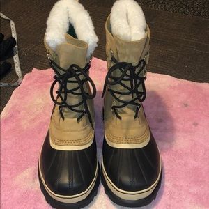 💋SOREL CARIBOU LINED BOOTS